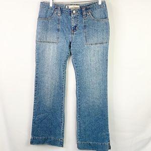Gap Wide Leg Flap Pocket Jeans